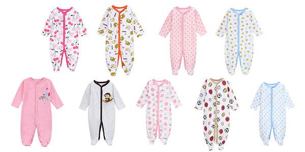 Pijamas mono para bebé baratos