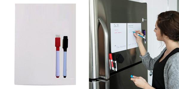 Pizarra magnética A5 para nevera chollo en AliExpress