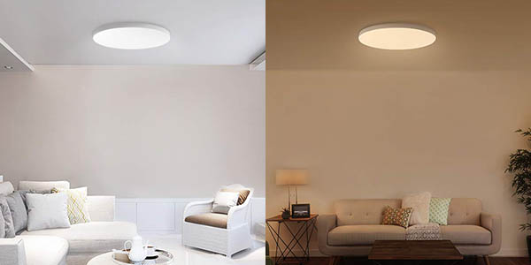 Plafón inteligente Xiaomi Mi LED Ceiling Light en Amazon
