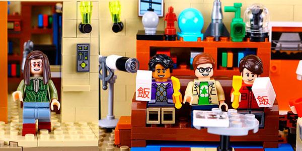 Set Casa The Big Bang Theory de tipo LEGO con 7 minifiguras barato