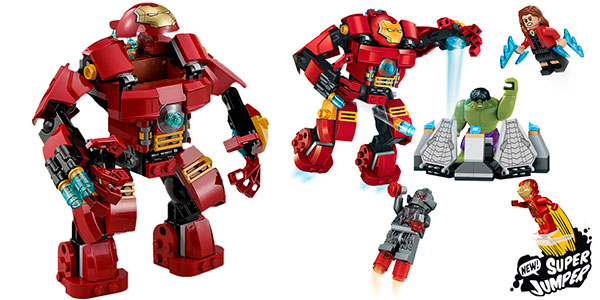 Hulkbuster Vengadores tipo LEGO
