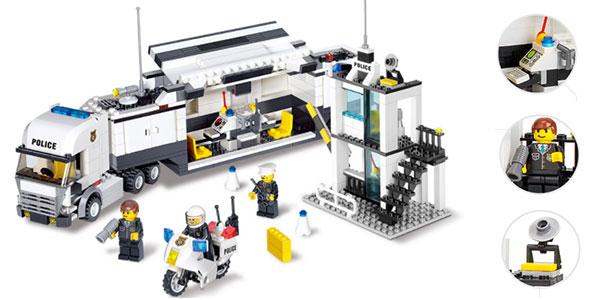 Playset Kazi 6747 Camión de policía de tipo LEGO barato