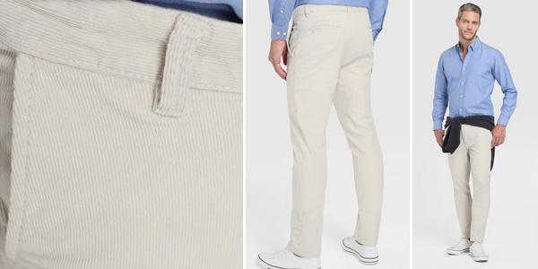 Pantalón chino UNIT para hombre chollo en AliExpress Plaza