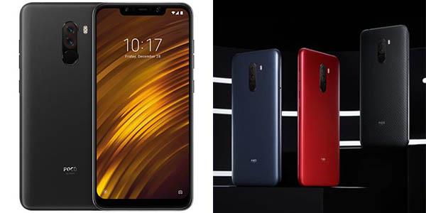 Xiaomi Poco F1 en varios colores