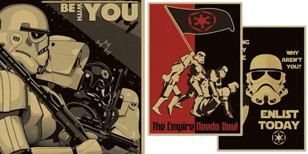 Carteles de alistamiento Star Wars baratos en AliExpress