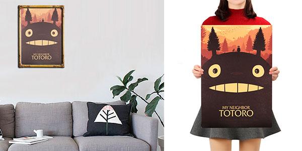 """Póster de la película """"Mi vecino Totoro"""" rebajado"""