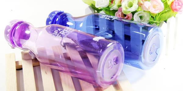practica botella portatil de plastico resistente a precio espectacular