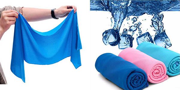 Toallas de microfribras en varios colores