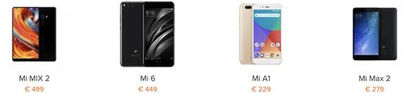 Precios móviles Xiaomi en España