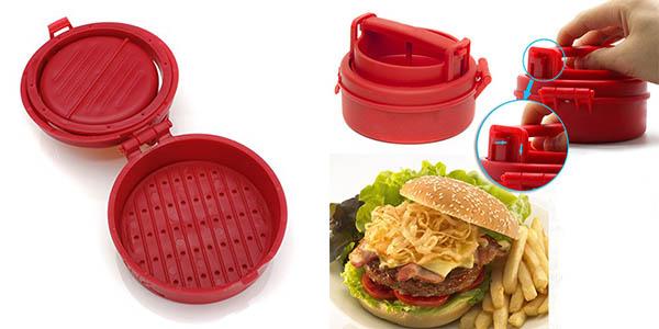 prensador de carne para hamburguesa facil de utilizar