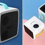Mini-proyector de vídeo, imágenes y sonido infantil Excelvan Q2 chollazo en GearBest
