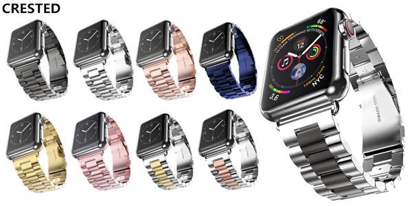 Correa de acero inoxidable para Apple Watch barata en AliExpress