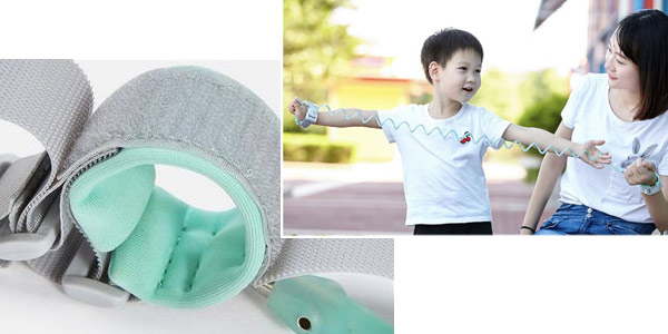 Pulsera antipérdida para niños chollo en AliExpress