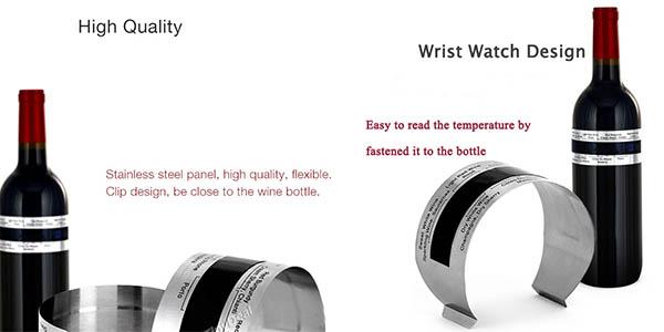 pulsera termémetro vino