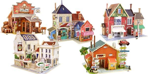 Juego Educativo Puzzle 3D de Madera VKTECH chollo en AliExpress