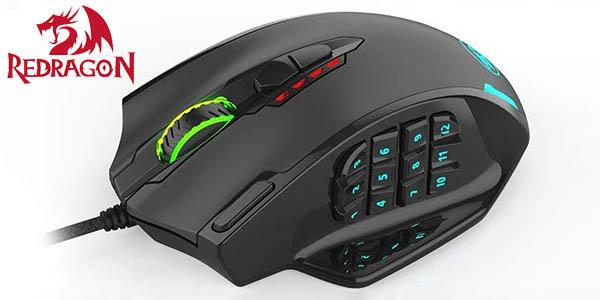 Ratón gaming Redragon M908 Impact