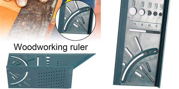 Regla 3D para carpintería barata