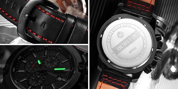 Reloj para hombre Ochstin estilo militar chollo en AliExpress