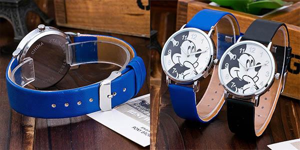 Reloj de muñeca de Mickey barato