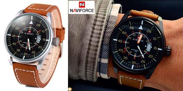 Reloj de cuarzo Naviforce 9044 para hombre barato