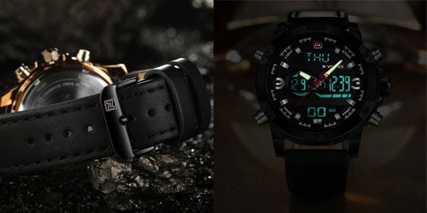 Reloj de pulsera Naviforce NF9097 para hombre chollazo en AliExpress