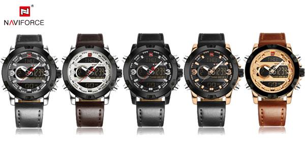 Reloj de pulsera Naviforce NF9097 para hombre barato en AliExpress España