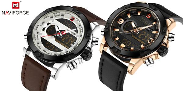 Reloj de pulsera Naviforce NF9097 para hombre chollo en AliExpress