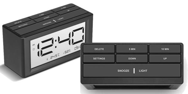 Reloj despertador Digoo DG-C4S chollo en BangGood