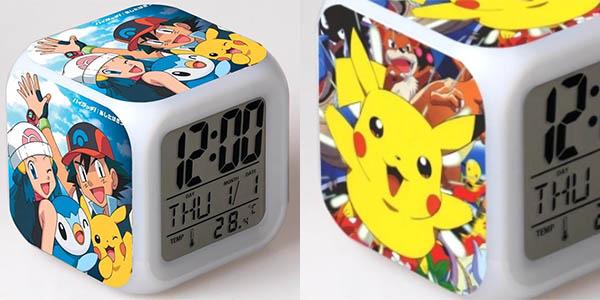 Relojes despertadores Pokémon baratos