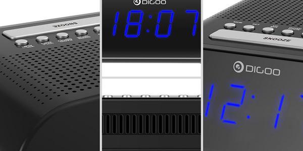 Radio/Reloj Despertador DIGOO DG-FR200 chollo en Banggood