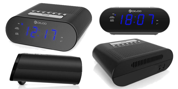 Radio/Reloj Despertador DIGOO DG-FR200 barato en Banggood