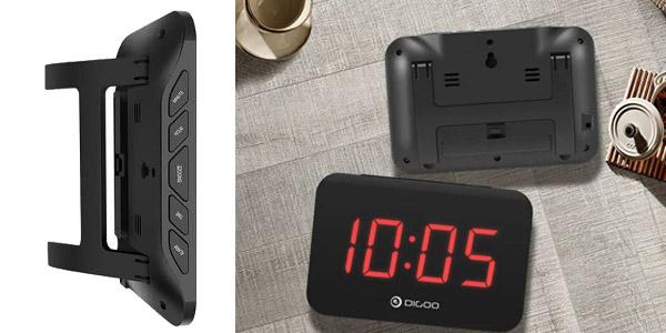 Reloj despertador Digoo DG-K4 chollo en Banggood