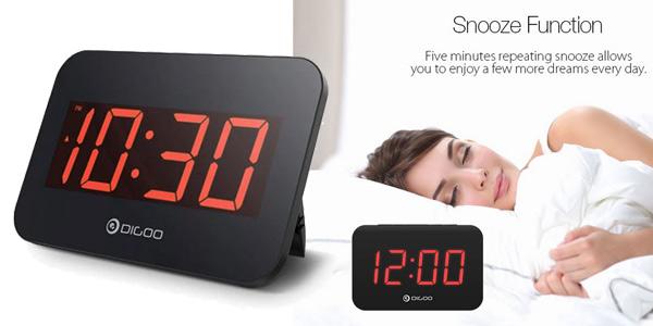 Reloj despertador Digoo DG-K4 barato en Banggood