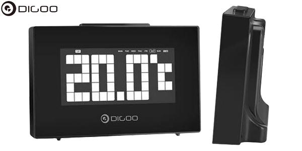 Reloj despertador Digoo DG-C9 con termómetro chollo en Banggood
