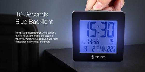Reloj despertador Digoo DG-C2