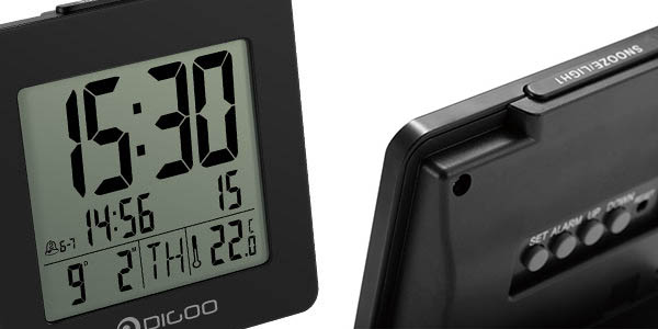 Despertador con termómetro barato