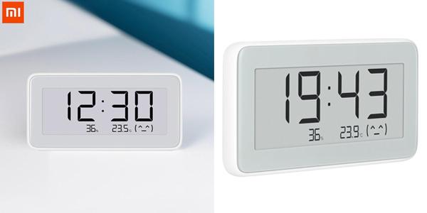Reloj digital / Termómetro Xiaomi Mijia con pantalla de tinta electrónica chollo en Banggood