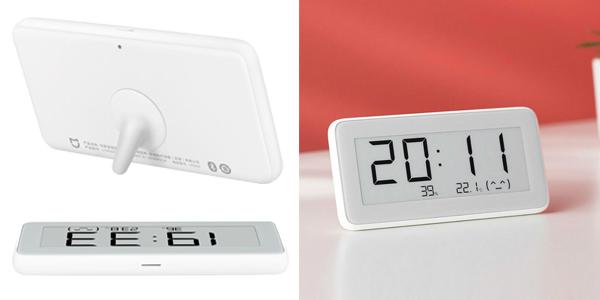 Reloj digital / Termómetro Xiaomi Mijia con pantalla de tinta electrónica chollazo en Banggood