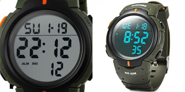 Reloj Skmei 1068 verde militar