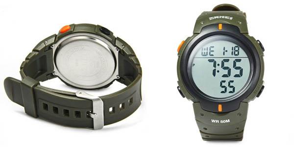 Reloj digital Skmei 1068 en Gearbest