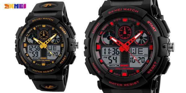 Reloj de pulsera SKMEI 1270 estilo deportivo para hombre barato en AliExpress