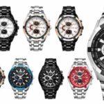 Reloj analógico Curren con movimiento de cuarzo para hombre barato en AliExpress