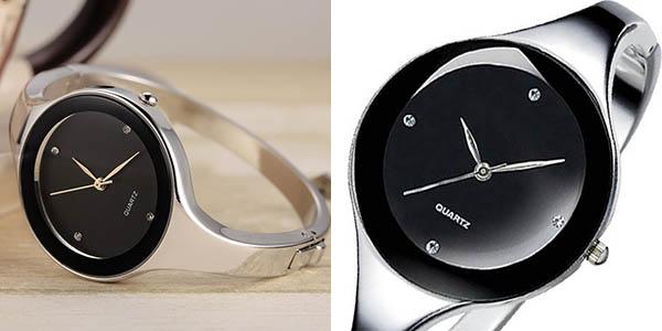 Reloj Geekthink de acero inoxidable para mujer