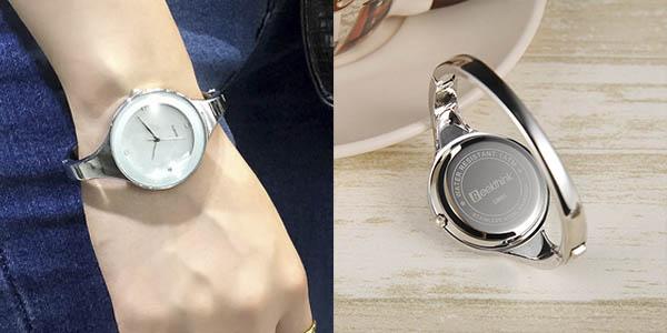 Reloj de cuarzo para mujer barato