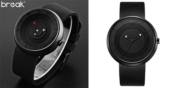 Reloj Break con diseño moderno para hombre
