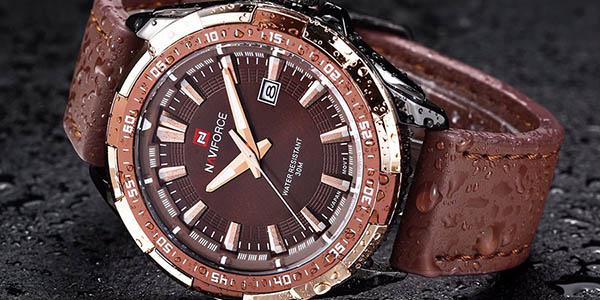 Reloj de cuarzo Naviforce 9056 con cupón descuento