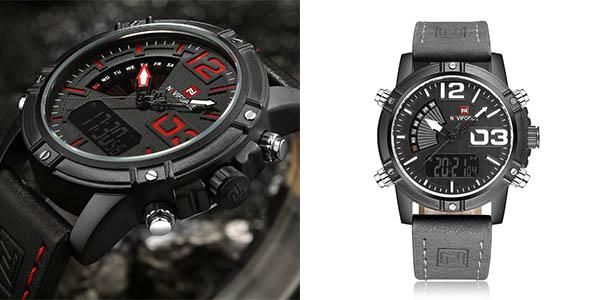 Reloj Naviforcee 9095 para hombre barato