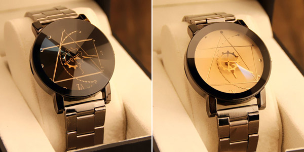 Reloj analógico Gofuly para hombre o mujer barato en AliExpress