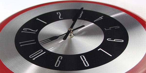 Reloj de pared sartén Timelike