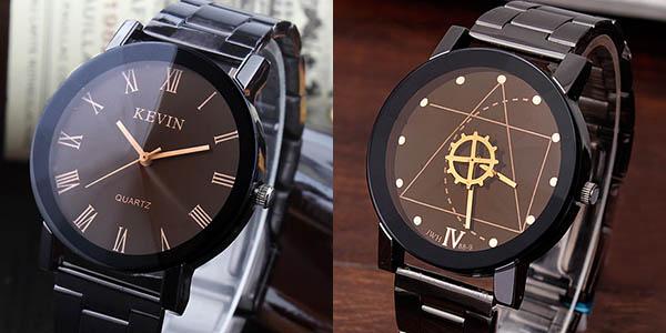Relojes de acero inoxidable baratos